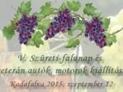 V. Kadafalvi Falunap Programja