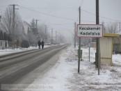 Vasárnapi havazás Kadafalván